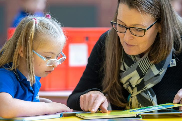 Learning to read at Yokine Primary